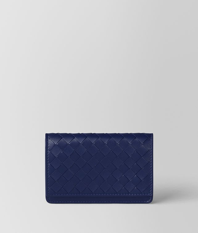 BOTTEGA VENETA ATLANTIC INTRECCIATO NAPPA CARD CASE Card Case E fp