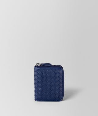 ATLANTIC INTRECCIATO NAPPA COIN PURSE