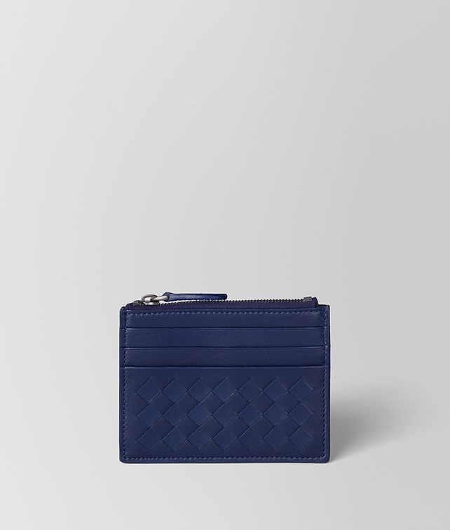 BOTTEGA VENETA ATLANTIC INTRECCIATO NAPPA CARD CASE Card Case or Coin Purse E fp