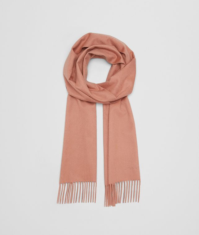 BOTTEGA VENETA OLD ROSE CASHMERE SCARF Scarf Woman fp