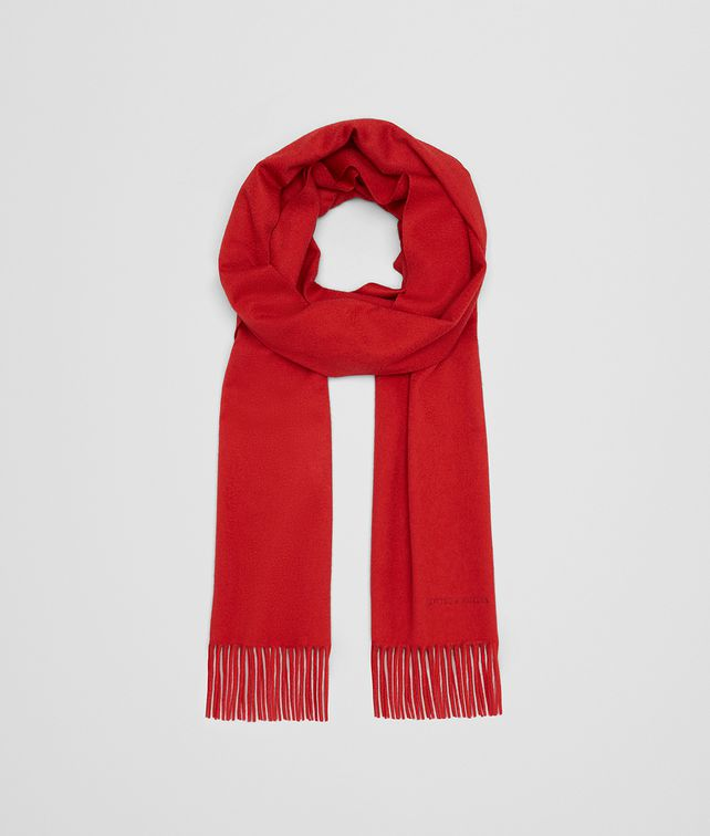 BOTTEGA VENETA RED CASHMERE SCARF Scarf [*** pickupInStoreShipping_info ***] fp
