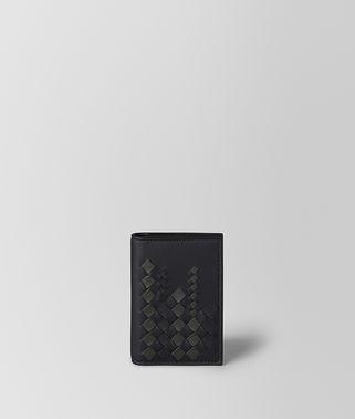NERO/ARDOISE NAPPA CARD CASE