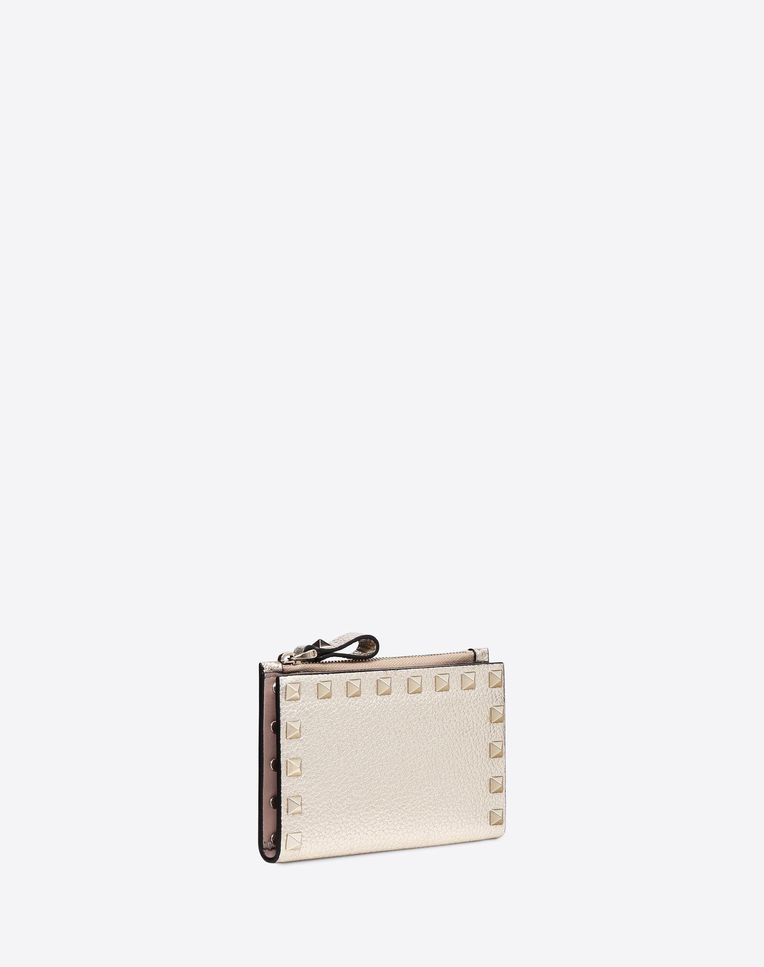 VALENTINO GARAVANI Rockstud Coin Purse and Card Case  COIN PURSES & CARD CASES D r