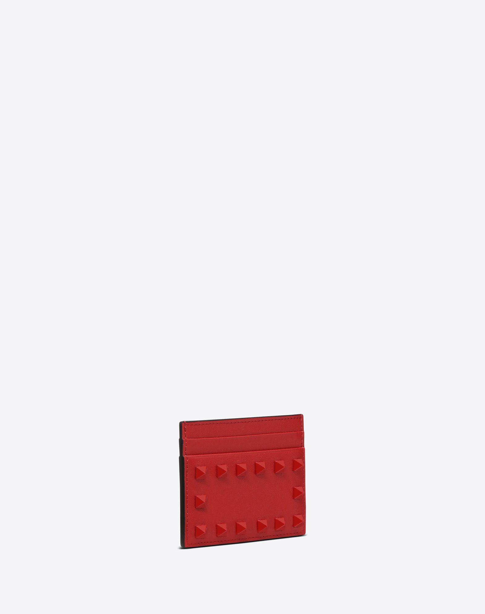 VALENTINO GARAVANI Rockstud Cardholder COIN PURSES & CARD CASES D r