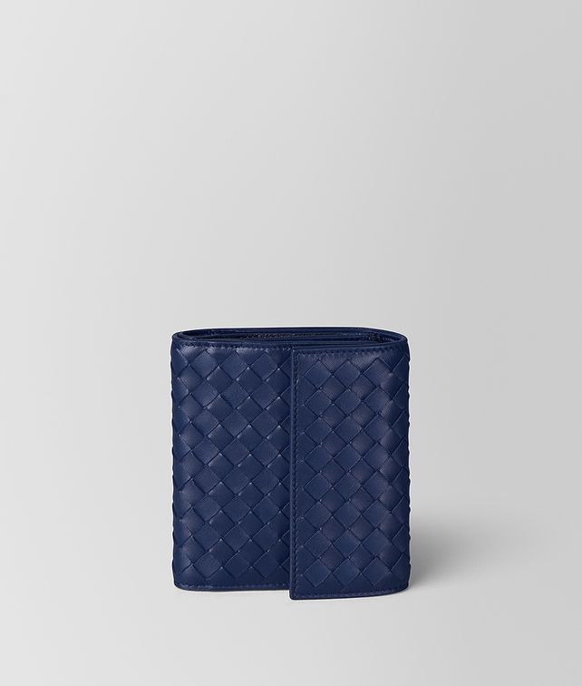 BOTTEGA VENETA ATLANTIC INTRECCIATO NAPPA MINI WALLET Mini Wallet [*** pickupInStoreShipping_info ***] fp