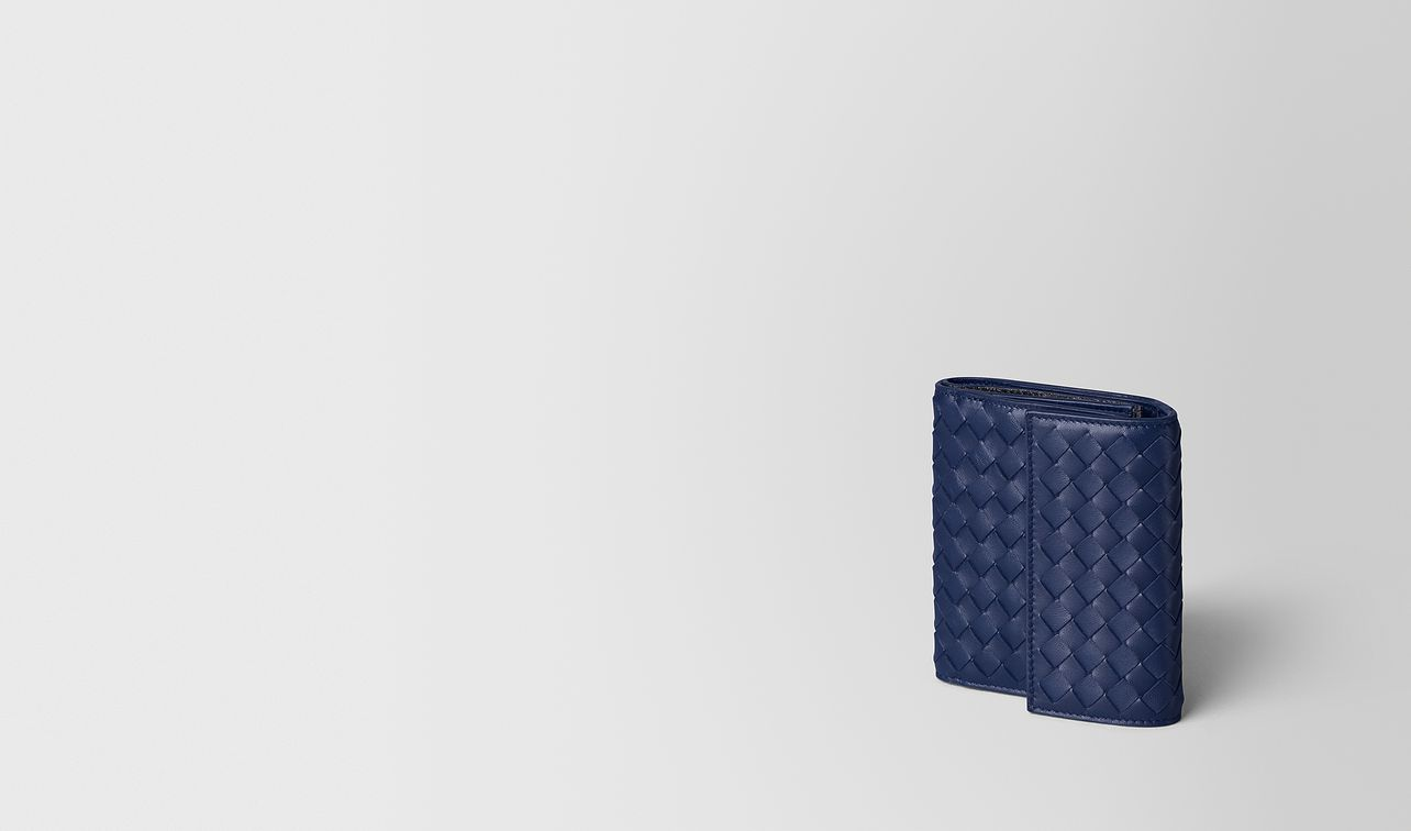 atlantic intrecciato nappa mini wallet landing