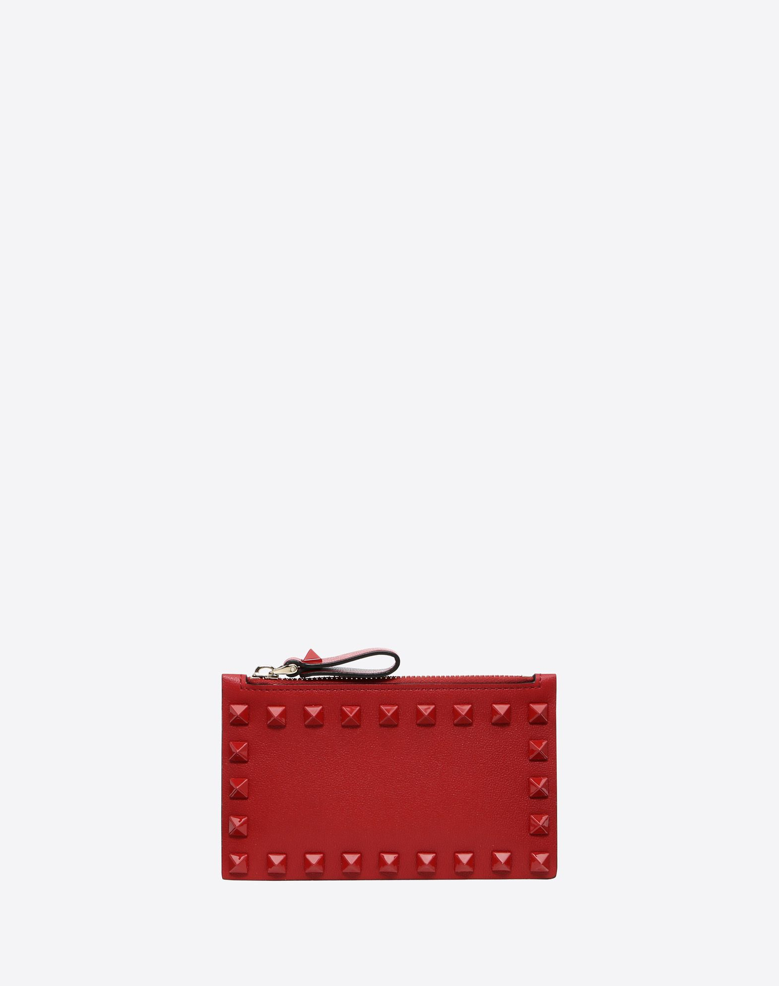 VALENTINO GARAVANI Rockstud Coin Purse and Cardholder CARD CASE D f