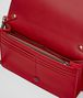 BOTTEGA VENETA CHINA RED INTRECCIATO NAPPA CHAIN WALLET CHAIN WALLET Woman dp