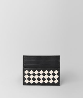 NERO/MIST CHECKER NAPPA CARD CASE
