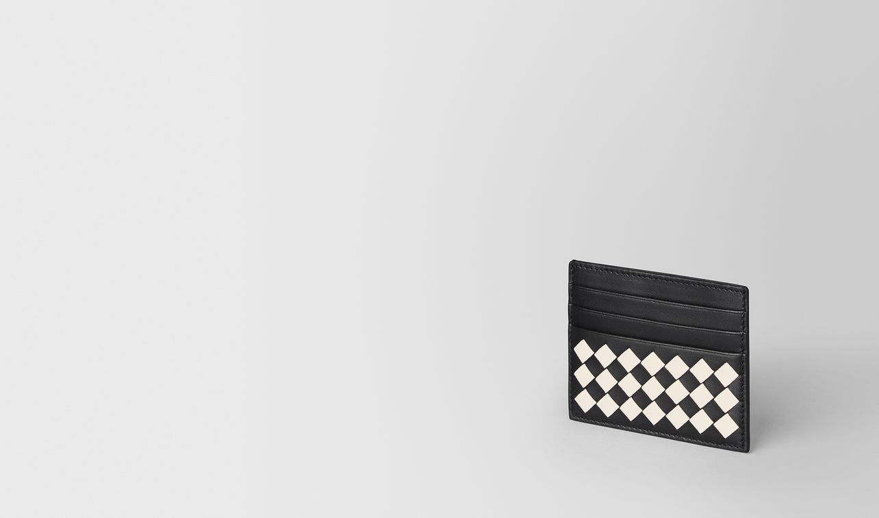 nero/mist checker nappa card case landing