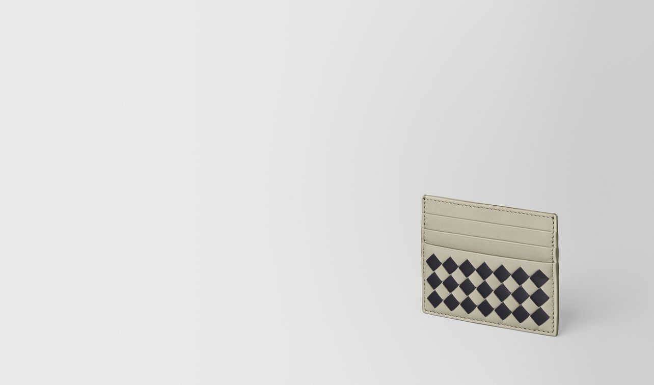 cement/nero checker nappa card case landing