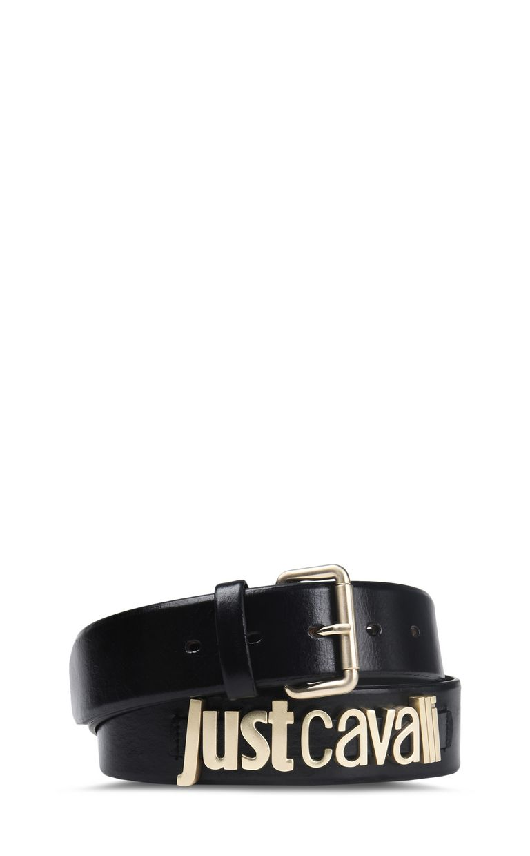 JUST CAVALLI Belt with buckle and logo detail Belt Woman f