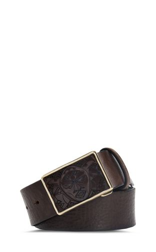 Tribal buckle belt
