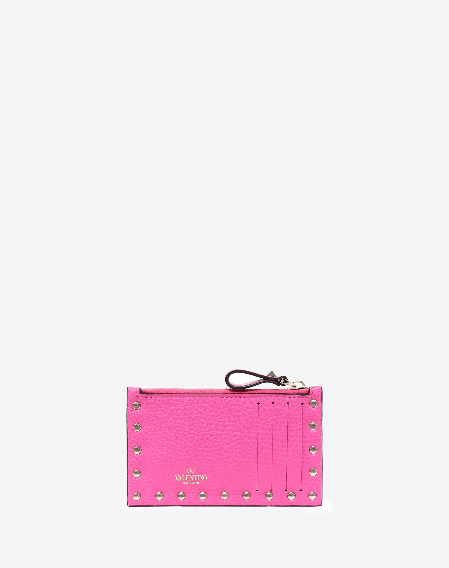VALENTINO GARAVANI Rockstud Coin Purse and Cardholder  CARD CASE D d