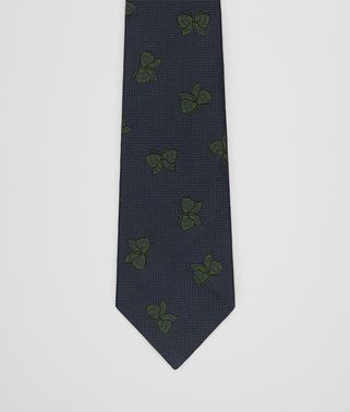 LODEN/DARK GREEN SILK TIE