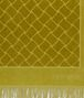 BOTTEGA VENETA OLIVE COTTON BEACH TOWEL Scarf Man ap