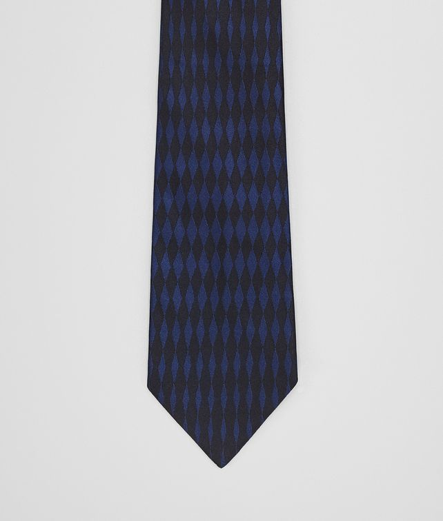 BOTTEGA VENETA MIDNIGHT BLUE SILK TIE Tie Man fp