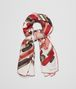 red silk foulard Front Portrait