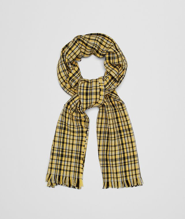 BOTTEGA VENETA GOLD WOOL SCARF Scarf [*** pickupInStoreShipping_info ***] fp