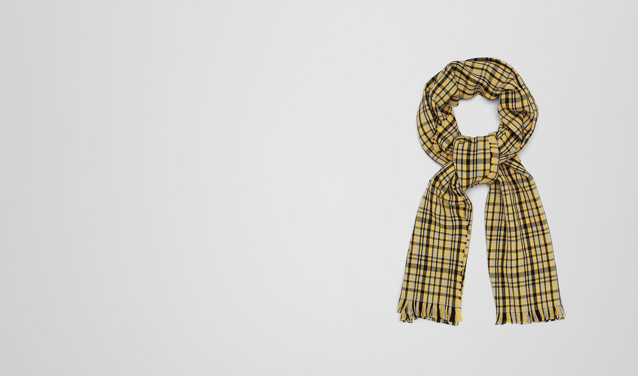 gold wool scarf landing