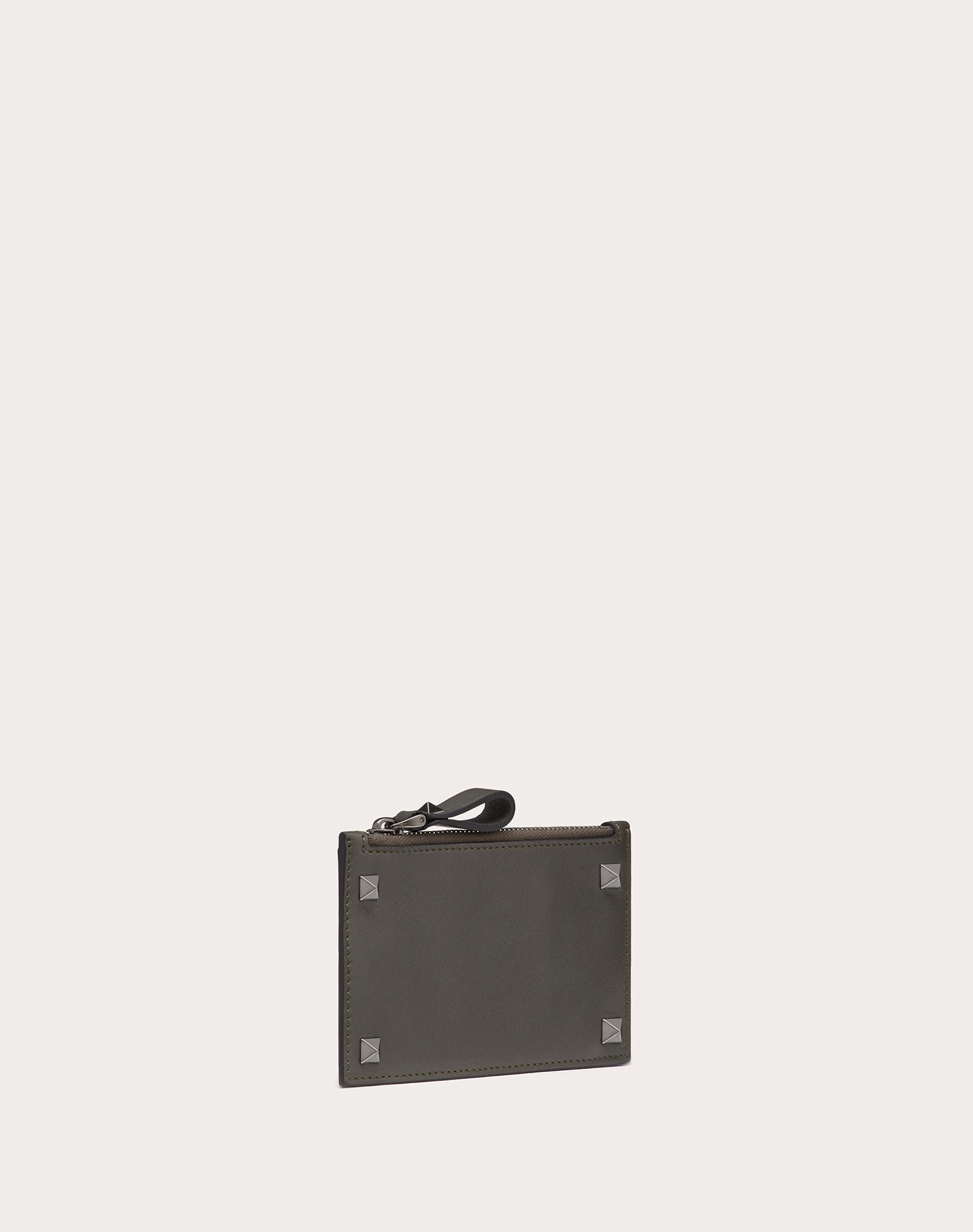 VALENTINO GARAVANI Rockstud card holder CARD CASE U e