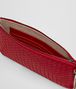 BOTTEGA VENETA CHINA RED INTRECCIATO NAPPA BILETTO CHAIN CHAIN WALLET Woman ep