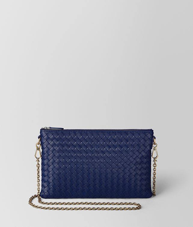 BOTTEGA VENETA ATLANTIC INTRECCIATO NAPPA BILETTO CHAIN CHAIN WALLET [*** pickupInStoreShipping_info ***] fp