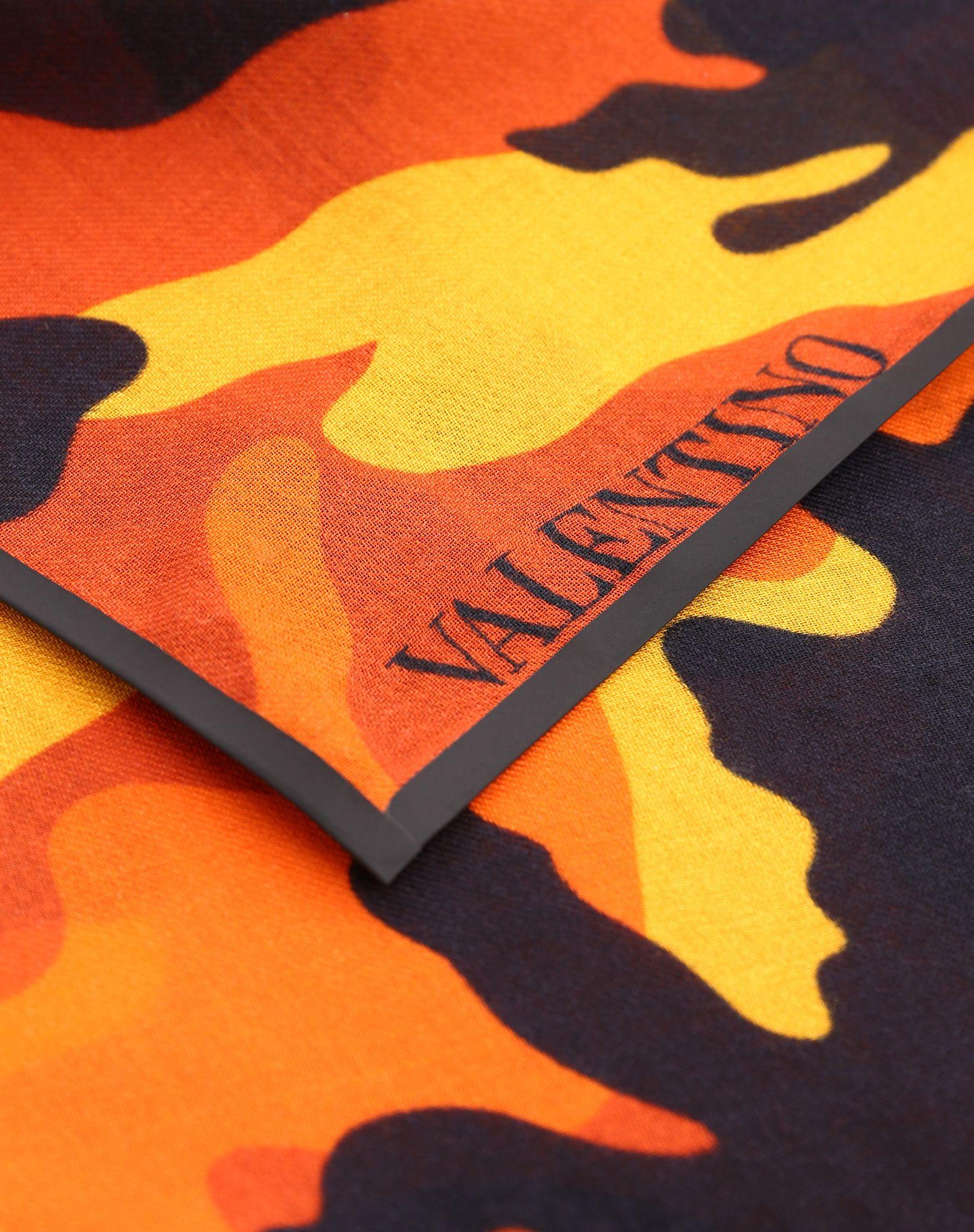 VALENTINO SETA 70x70 cm bandeau scarf Foulard U d