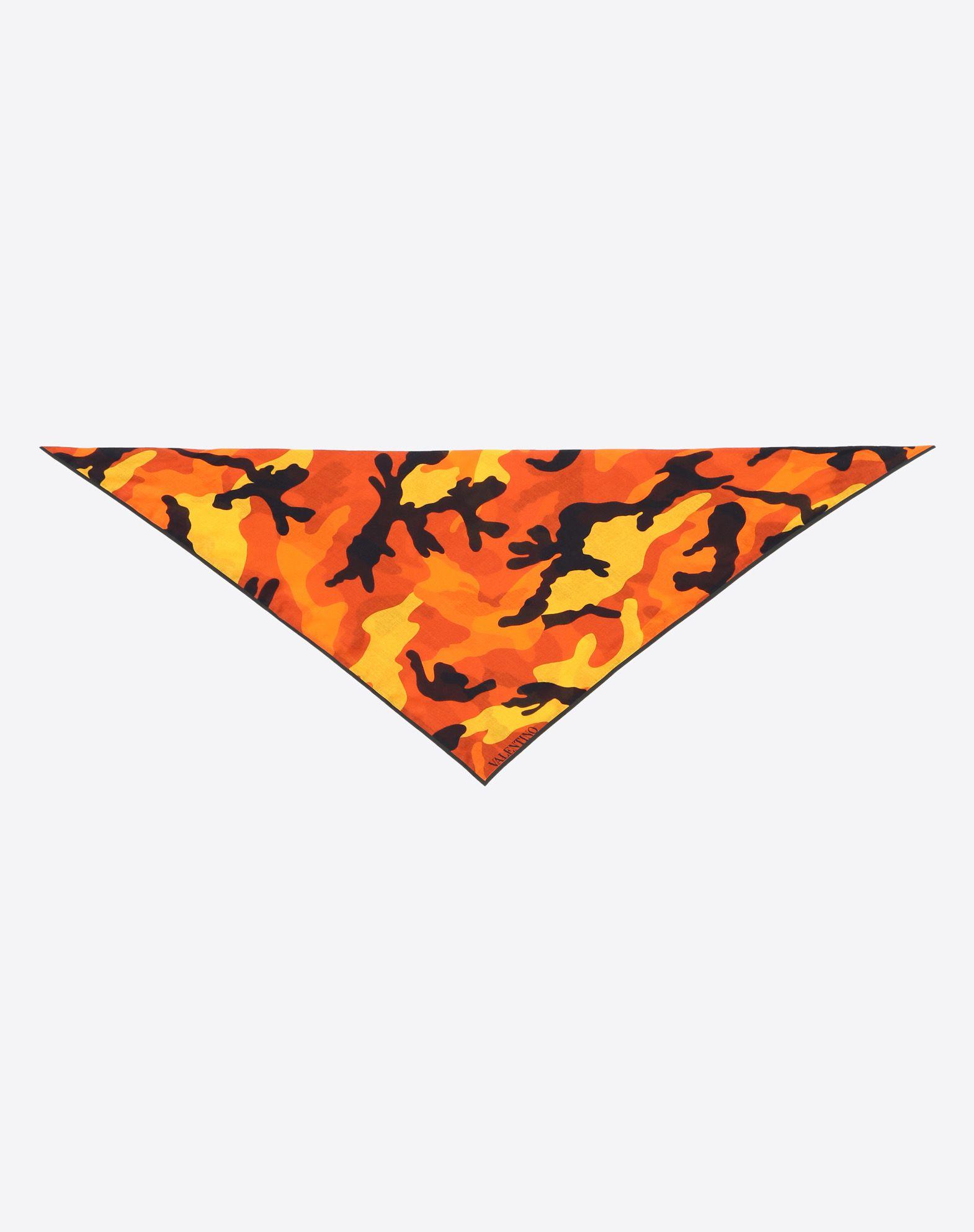 VALENTINO SETA 70x70 cm bandeau scarf Foulard U r