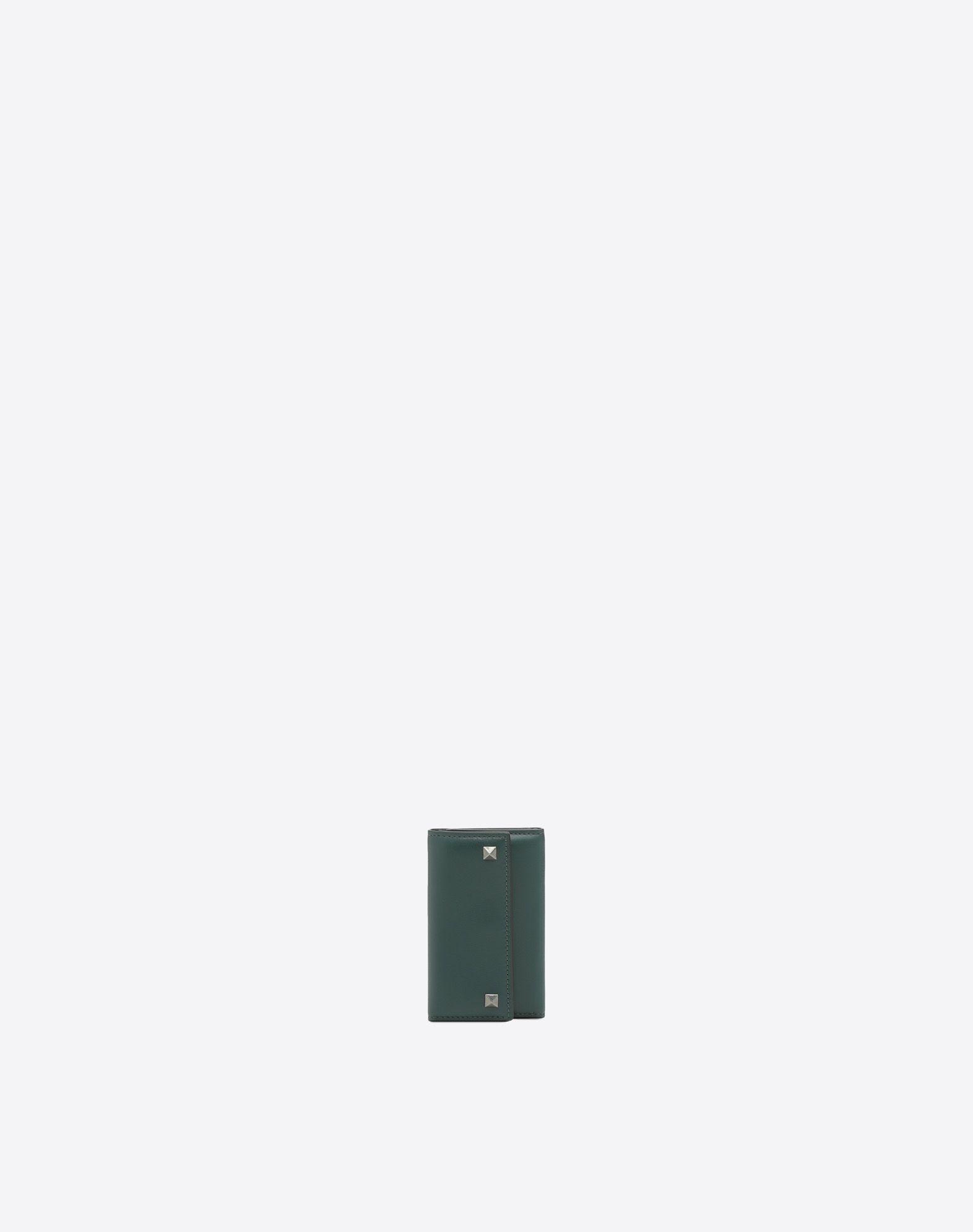 VALENTINO Cierre con automáticos Logotipo Monocolor Tachuelas  46583544jl