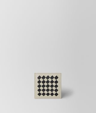 CEMENT/NERO CHECKER NAPPA COIN PURSE