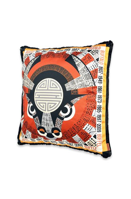 MISSONI HOME OROSCOPO CUSHION Rust E - Back