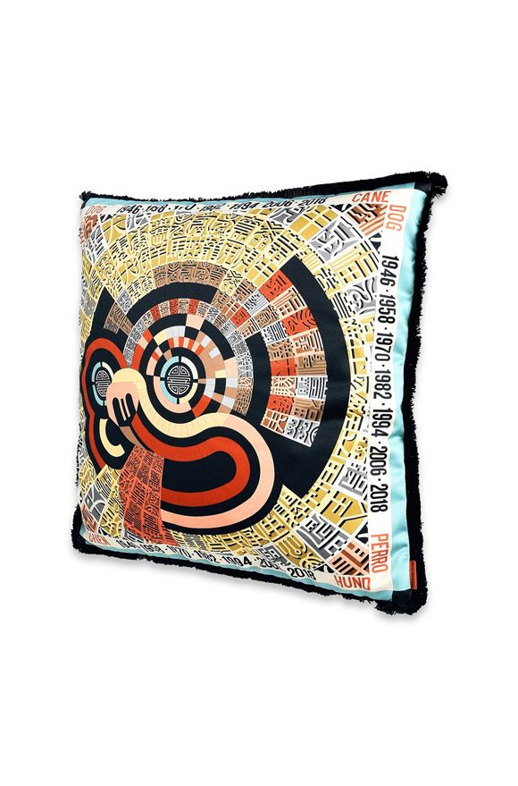 MISSONI HOME OROSCOPO CUSHION Black E