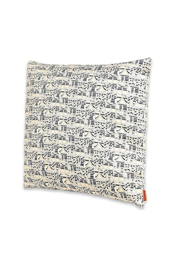 MISSONI HOME 16x16 in. Cushion E IDEOGRAMMA CUSHION m