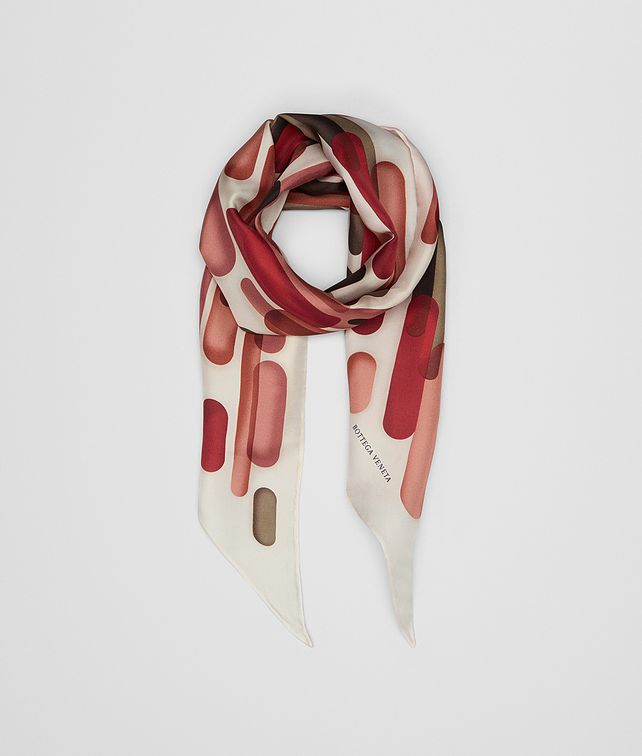 BOTTEGA VENETA RED SILK SCARF Scarf [*** pickupInStoreShipping_info ***] fp