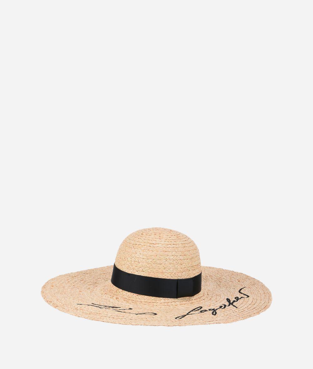 KARL LAGERFELD K/Stripes Hat  Hat Woman f
