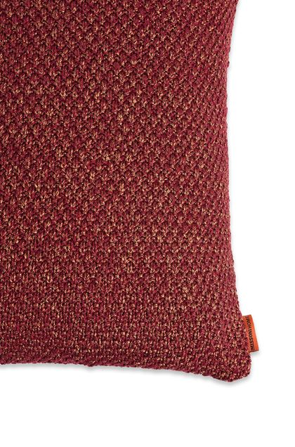 MISSONI HOME VELIDHOO CUSHION Brick red E - Front