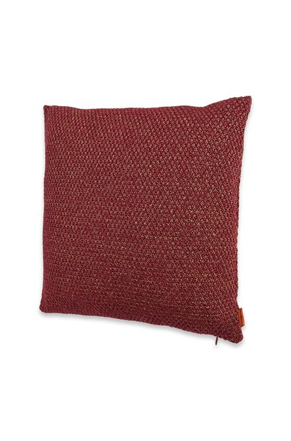 MISSONI HOME VELIDHOO CUSHION Brick red E - Back