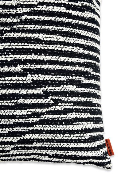MISSONI HOME VARBERG CUSHION Black E - Front