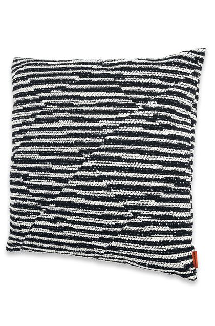 MISSONI HOME VARBERG CUSHION Black E - Back