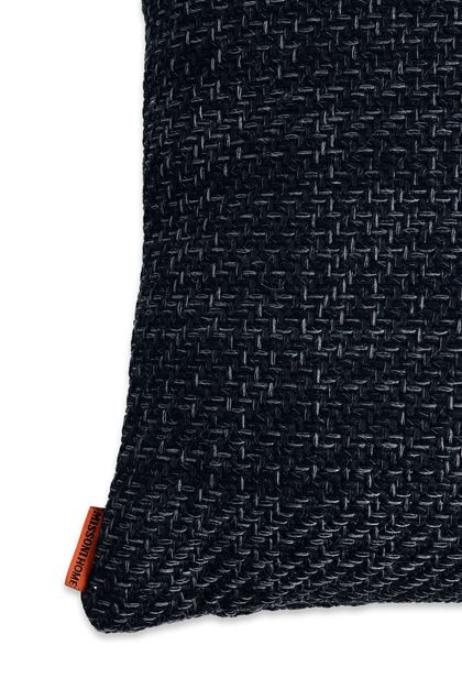 MISSONI HOME VINDEL CUSHION Black E - Front