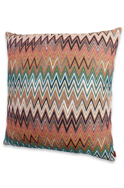 MISSONI HOME VITIM CUSHION Brown E - Back