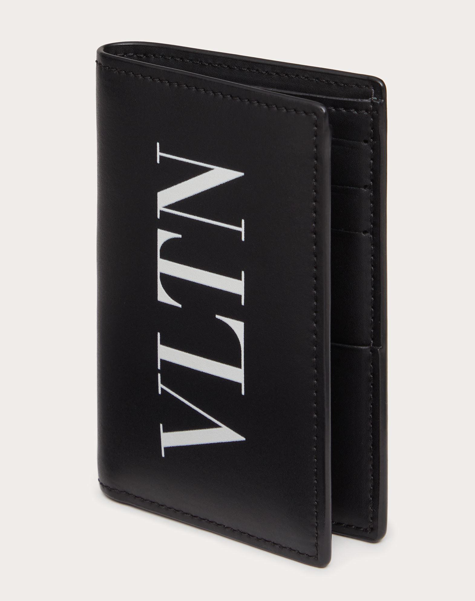 VALENTINO GARAVANI UOMO VLTN card holder COIN PURSES & CARD CASES U e