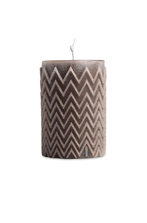 MISSONI HOME CHEVRON  CANDLE E, Frontal view