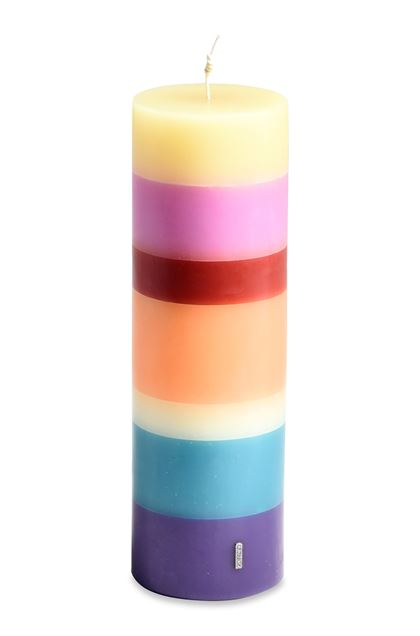 MISSONI HOME FLAME TOTEM CANDLE Purple E - Front