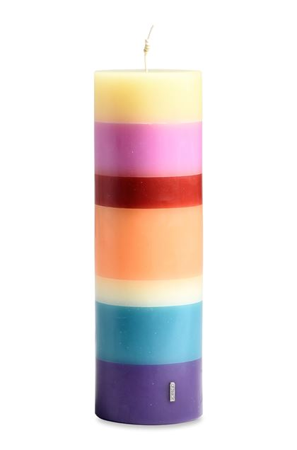MISSONI HOME FLAME TOTEM CANDLE Purple E - Back