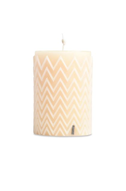MISSONI HOME CHEVRON  CANDLE Ivory E - Back