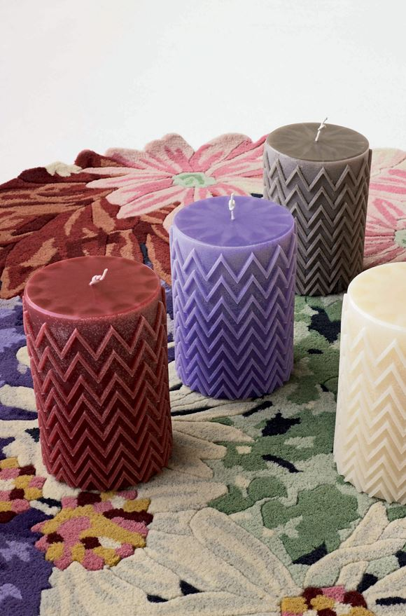 MISSONI HOME CHEVRON  CANDLE E, Detail