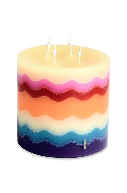 MISSONI HOME FLAME CANDLE Purple E - Front