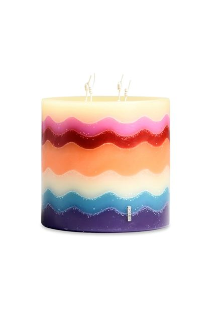 MISSONI HOME FLAME CANDLE Purple E - Back